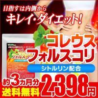 専用クーポンで390円 サプリ サプリメント 1粒200mg高配合 コレウスフォルスコリ 約3ヵ月分 ダイエット、健康グッズ