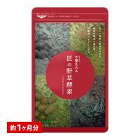 クーポンで198円 サプリ サプリメント 匠の野草酵素 約1ヵ月分 酵素 練酵素 生酵素