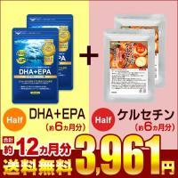 サプリ サプリメント DHA EPA オメガ3 αリノレン酸 約6ヵ月分 ケルセチン 約6ヵ月分 合計約12ヵ月分 ダイエット