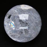 虹入りヒマラヤ水晶水晶玉丸玉64mm
