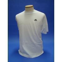 ワンポイントTシャツ アディダス 綿100%  シルエットはスポーツ仕様で胸まわりは通常より少々大き...