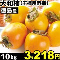 柿 徳島産 大和柿【干柿用渋柿】 10kg 1箱