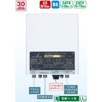 770MHz・CS/BS-IF帯用ブースタ(着脱式電源)  利得:CATV下り 25〜30dB   ...