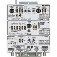 インピーダンス(Ω):入力(出力)75F形 周波数帯域:10〜3224MHz 利得:CATV上り 3...