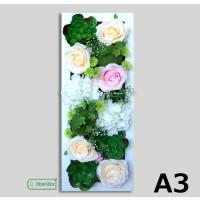 壁飾り 観葉植物 お花壁飾り 壁掛けインテリア ウォールディスプレイ フェイクグリーン 光触媒 壁面飾り オーナメントパネル hn24