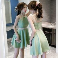 ◆素材: ポリエステル ◆セット内容: ドレス ◆季節:春秋夏 スタイル:ファッション  サイズ:着...