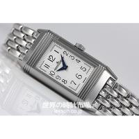 レベルソファンにとってはたまらない、エレガントこの上ない時計。表はアールデコ調のクラシカルなデザイン...
