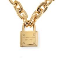 独特の光沢感が上品で人気なネックレス。キーロックの定番のスタイルですが、チェーンが太めで存在感があり...
