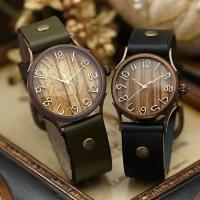 ペアウォッチ vie(ヴィー)は、ファッションの一部として多彩にマッチするアンティーク腕時計。 天然...
