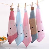 ・とってもかわいいクマとウサギのタオル、5枚セットです。  ※ご注意 色、柄はお選びできません。  ...
