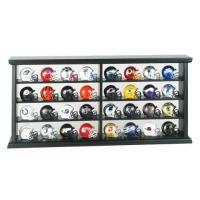 NFL全32チームのミニヘルメットが特製ウッドケース(木製)に入った豪華セット。 アクリル製の扉もつ...