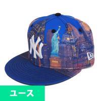 MLB ヤンキース シティ ランドスケープ ナイト ビュー ステート オブ リバティー 59FIFTY ユース キャップ/帽子 ニューエラ/New Era