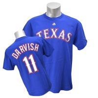 MLB選手のユニフォームをデザインしたプレイヤーTシャツです。MLBファンなら1枚は持っておきたい定...
