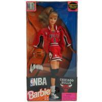 NBAチームモデルのバービー人形。 1998年リリースの貴重なビンテージモデル。  ユニフォームとジ...