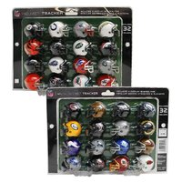 NFL全32チームのミニヘルメットがプラスチック製のケースに入ったミニヘルメットセット。 メーカーは...