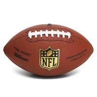 NFLの試合で使用されている公式球のレプリカモデル。  ベーシックな4枚パネル式、オフィシャルを示す...
