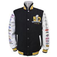 様々なスポーツアパレルを手掛ける「G-III(ジースリー)」のスーパーボウル50周年記念アイテム。 ...