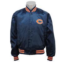 NFLシカゴ・ベアーズのオーセンティック・サテンジャケット。  現在は入手が難しく、希少価値の高いレ...