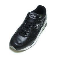 NEW BALANCE M1500BK LEATHER BLACK MADE IN ENGLAND ...