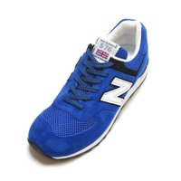 NEW BALANCE M576PBK MADE IN ENGLAND BLUE/WHITE/BLA...