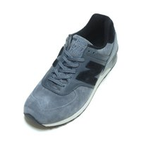 NEW BALANCE M576PLG GREY/BLACK SUEDE MADE IN ENGLA...