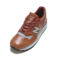 NEW BALANCE M998BESP HORWEEN LEATHER BROWN MADE IN...