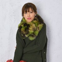 【40%OFF】【即納】PERFE MADE BY R.D.PERFE パフィー カモフラ フォックス ファー レディース(14-15AW)【送料無料】