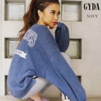 GYDA【ジェイダ】 WIDEBOYSドルマンスウェットTOPS  ■素 材■ 本体:綿100% リ...