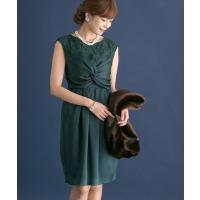 【カテゴリ】レディース > ワンピース > ドレス 【カラー】GREEN/NAVY 【サ...