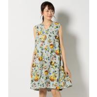 23区 / ニジュウサンク 【Vingt-trois Flicka】Flower Print dress ワンピース