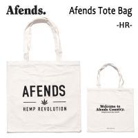AFENDS,アフェンズ/TOTE BAG・トートバッグ/AFENDS TOTE BAG・17D15-11/HR/NATURAL・ナチュラル/47cm×49cm/キャンバス