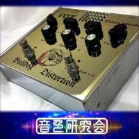 VOX Bulldog Distortionは幅広く音作りが可能な真空管入りディストーションペダル。...