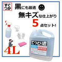 鉄粉除去剤 鉄粉取り 鉄粉除去 てつとり君 4L レギュラータイプ