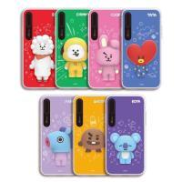 [韓国雑貨]=BT21公式グッズ= 立体のキャラが可愛いシリコンライティングケース <iPhoneX...