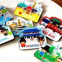 [ 韓国雑貨 ] 伝統キャラクター ソウル旅行マグネット(選べる2タイプ) [ かわいい ]◆ 《韓...