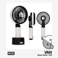 [韓国雑貨]=BT21公式グッズ= HANDY FAN <VAN>  (BT21 ハンディー扇風機)...