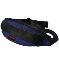 【アイテム】 ショルダーバッグとしても、ウエストバッグとしても使える、コンパクトなカジュアルバッグで...