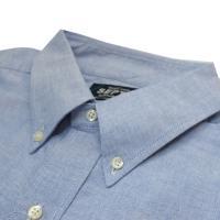 SEPTIS ORIGINAL(セプティズオリジナル) ORIGINAL IVY P/O SHIRTS(半袖オリジナルアイビープルオーバーシャツ) OXFORD(オックスフォード) BLUE