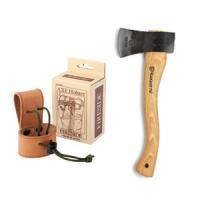 ハスクバーナの手斧は、持ち運び便利なコンパクトサイズの手斧です。 焚き付けや枝切り、細い薪割りに重宝...
