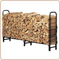 薪ストーブ ログラック  堅牢なスチールパイプ製のこのログラックには、 たっぷりの薪が収納できます。...