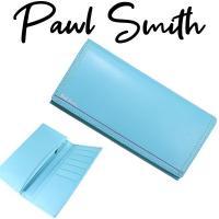 ポールスミス 財布 メンズ かぶせ長財布   ■品番 ・ダブルステッチ ・823799 モデル:PS...