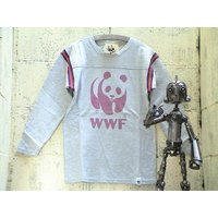 2009-10年タイプ1は、胸にお馴染みの絶滅危惧種でありWWFマークのパンダのプリント。 背中は無...