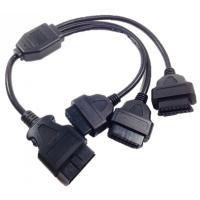 OBDカプラーからの電源取り出しなどの用途にご使用できます。 3つのアクセス可能 なOBD2のメスポ...