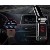 FMトランスミッター Bluetooth 充電用 USB 2ポート出力付き マイク内蔵 車 SUV トラック バス 12V~24 v対応 ウォークマン ワイヤレス スマホ iPhone カー用品|sevenfox|04