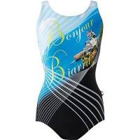 泳げるようになることを目標に練習をするユーザーに向けた水着。上下がつながったスタイルなので、水中でも...