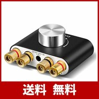 Bluetooth 5.0 アンプ ELEGIANT パワーアンプ オーディオアンプ ステレオ スピーカー デジタルアンプ ベース 増幅器 100W大