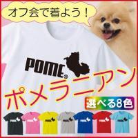 ポメラニアンのスポーティロゴTシャツです。ポメラニアンstyle vol.01にもおすすめ。ポメラニ...