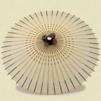 定番の白に小さいい縞を配したシンプルなデザイン○サイズ:親骨の長さ57cm 全長77cm 傘の直径1...