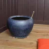 信楽焼10号なまこ火鉢!和風を演出する陶器火鉢です。陶器ひばち/手焙/手あぶり/信楽焼ひばち【hi-0007】『あすつく対応』