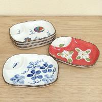 風雅の多用皿揃です。5枚とも絵柄が違う和風のお皿です。 新築祝いや引出物等、お祝いのギフトや記念品な...